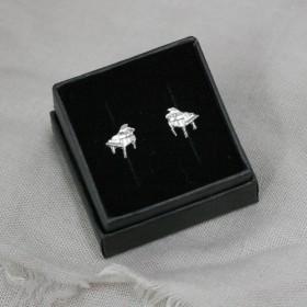 Piano mini earrings (sterling silver)