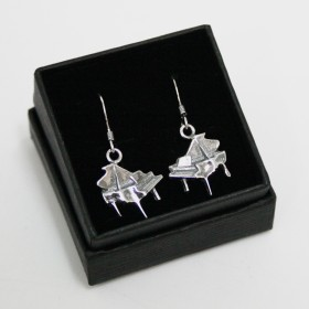 Piano earrings (sterling silver)