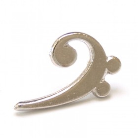 Bass Clef Lapel Pin