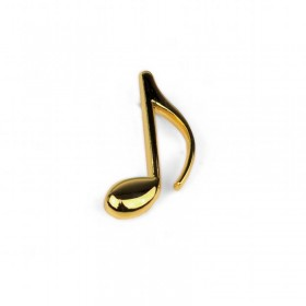 Quaver Lapel Pin (gold-plated)