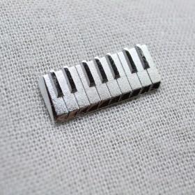 Keyboard 3D Lapel Pin
