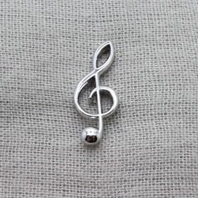 G key Lapel Pin