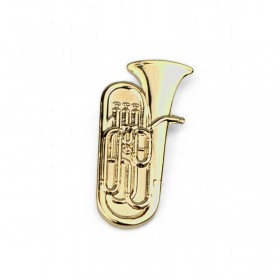 Tuba Lapel Pin (gold-plated)