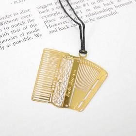 Accordion bookmark