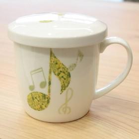 Quaver ceramic mug