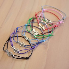 Treble Clef Imitation Jewellery bracelet