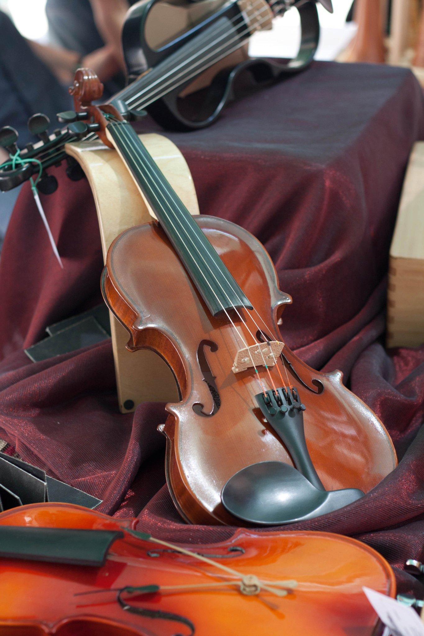 Ella, primer violin de Maiol